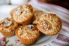 glutenfria hastbullar Gluten Free Baking, Gluten Free Recipes, Fika, Food N, Fodmap, Lchf, Free Food, Nom Nom, Bacon