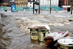 Rochdale town centre flooding left homes and businesses...: Rochdale town centre flooding left homes and businesses… #ManchesterEveningNews
