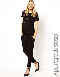 FASHION DUES & DUEN'TS - Contemporary Maternity Style Category    Usually chic jumpsuit