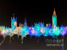 Westminster And Big Ben - Nighttime 1 ©Bill Holkham