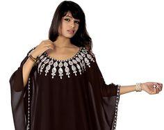 Robe caftan brodé main Belles dames nouvelle broderie de Farasha Jalabiya Dubaï caftan Abaya  Description Papillon élégant Style Farasha