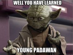 Funny pictures about Yoda has spoken. Oh, and cool pics about Yoda has spoken. Also, Yoda has spoken. Star Wars Meme, Star Trek, Tumblr Funny, Funny Memes, Hilarious, Funny Facts, Yoda Quotes, Fantasy Star, Youre My Person