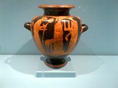 el nacimiento de atenea Vase, Home Decor, Greek Mythology, Greek, Birth, Serif, Museums, Homemade Home Decor, Flower Vases