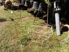 heaths old wares collectable industrial antiques, 12 station st bangalow nsw 2479 ph 66872222 vintage wire plant stands for sale Plant Stands, Garden Tools, Broadway, Therapy, Industrial, Wire, Antiques, Phone, Plants