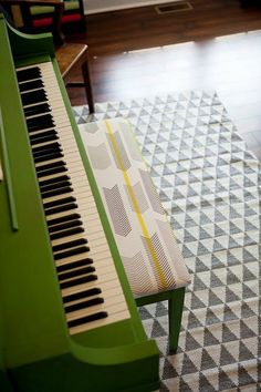 Before & After: Transforming a Piano with Color