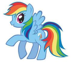 Rainbow-Dash-My-Little-Pony-Iron-On-Transfer-5-x5-5-for-LIGHT-Colored-Fabric