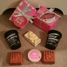 Got my final delivery of #lushsale goodies today
