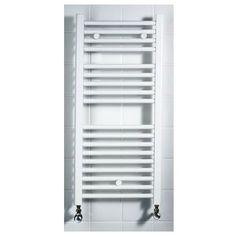 Torino Heated Towel Rail - White 1142 x 420mm