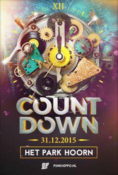 THU DEC 31ST 2015 COUNTDOWN Het Park HOORN NL | www.pinkhippo.nl