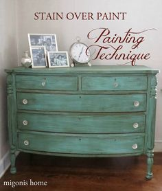 Distressed Furniture with Chalk Paint - Best Office Furniture Check more at http://cacophonouscreations.com/distressed-furniture-with-chalk-paint/