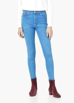 Jean super slim andrea   MANGO Jeans Pour Femme, Fermeture Éclair, Je Suis  Riche 9ca740798366