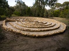 The winding path, the search for truth, Langwarrin, Australia, 2010