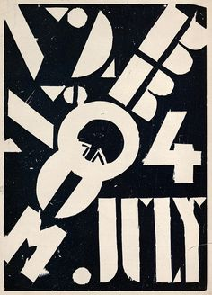 Broom Volume 2, Number 4, July 1922 cover by Fernand Leger