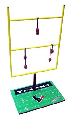 NFL Houston Texans Goal Post Toss Game II *** Learn more by visiting the image link.Note:It is affiliate link to Amazon.