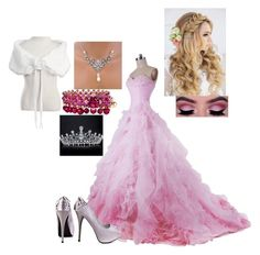 """""""Royal ball"""" by katrinapetrova ❤ liked on Polyvore featuring JustFab and Chaumet"""