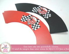Wrapper p/ Cupcake Carros Disney