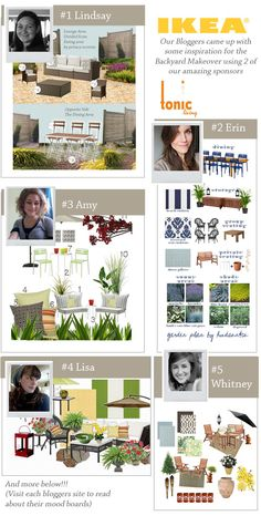 Bloggers Give Back: Blog Crew Mood Boards Featuring IKEA and Tonic Living