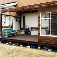 Outdoor Garden Rooms, Outdoor Decor, Home Office Space, Sunroom, Room Interior, Pergola, Shed, Deck, Exterior