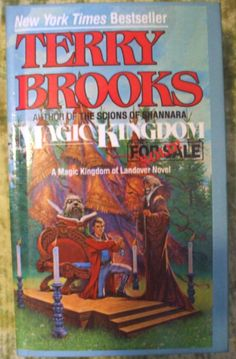 Magic Kingdom For Sale By Terry Brooks 1986-Hardcover-Excellent Condition            **Great Deal**