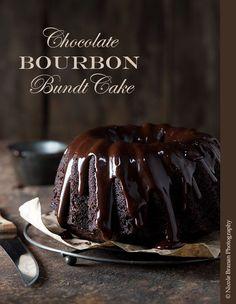 Chocolate Bourbon Bundt Cake Recipe | The Spice Train: