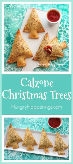 Stuff tree shaped pizza dough with MorningStar Farms® Grillers® Crumbles™ , a blend of cheese, veggies, and pizza sauce. Your whole family with enjoy these Calzone Christmas Trees. #VeryVeggieHoliday #collectivebias #ad