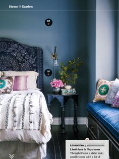 ~pattern and color mix: bedroom~