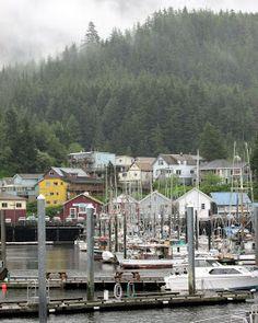 Ketchikan, Alaska - Always fun but drizzly.