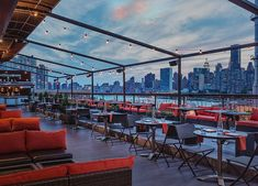 NYC's 10 Best Rooftop Bars via @PureWow Penthouse 808 in The Ravel Hotel, Long Island City