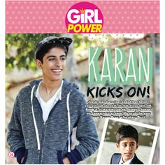 of feature in the new issue of Karan Brar, Jessie, Girl Power, Persona, Kicks, Hilarious, Actors, Running, Twitter