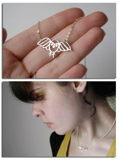 Hedwig Necklace... Hannah would LOVE this!