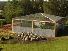 Enclosed Garden~to Keep Out Deer And Critters