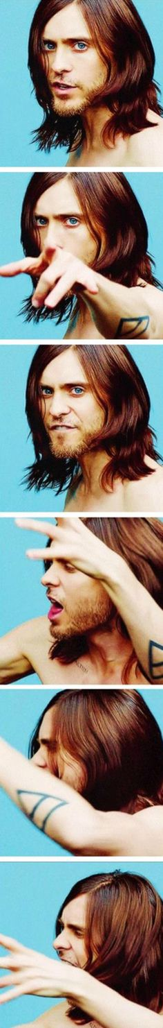 Jared Leto.  .Emy Cubbins.