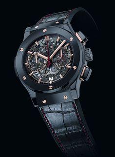 ed7cca64e02 Hublot Classic Fusion em homenagem a Dwyane Wade Relógios Fashion