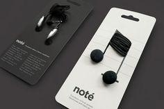 brilliant package design for headphones