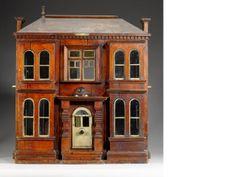 'Eleanor Villa' Victorian wooden dolls house
