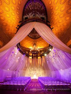 Beautiful Ceremony lighting | Ceremony