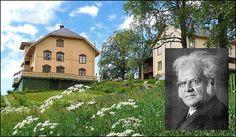 Aulestad gård ble kjøpt av Bjørnstjerne Bjørnson i 1874. Hovedbygningen på gården er fredet og ble innkjøpt som nasjonaleiendom etter en landsinnsamling i 1922.   Karoline Bjørnsons d.1934.  Dikterhøvdingen Bjørnstjerne Bjørnson  fikk Nobels litteraturpris i 1903. Døde i Paris 1910