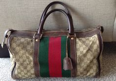 1970's Authentic Gucci  Bag.  SOLD!  Proceeds donated to Two Dollars Can Change A Life.