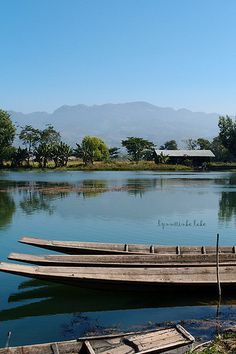 Lac Inle, dans l'Est de la Birmanie
