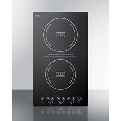 """You'll love the 11"""" Induction Cooktop with 2 Burners at Wayfair - Great Deals on all Home Improvement products with Free Shipping on most stuff, even the big stuff."""