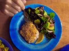 Macadamia Nut Crusted Mahi Mahi Recipe : Alton Brown : Food Network - FoodNetwork.com