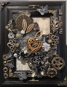 #mixedmedia #canvas with frame A5-size