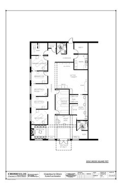 Superbe Chiropractic Office Floor Plans