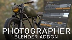 Photographer Blender Addon - Introduction