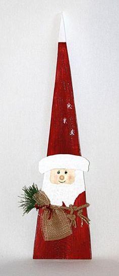 Weihnachtsmann Knecht Ruprecht von drinn-draus deko4u auf DaWanda.com
