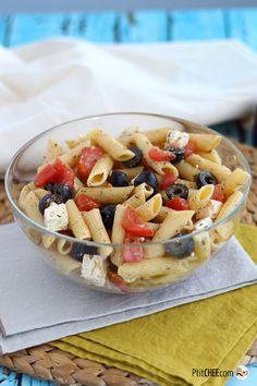 #ptitchef #recette #cuisine #salade #pâtes #facile #antigaspillage #piquenique #faitmaison #recipe #cooking #food #homemade #diy #imadeit