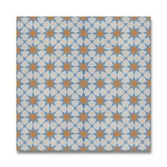 Shop for Medina Blue and Orange Cement/ Granite 8-inch x 8-inch Floor and Wall Tile, Pack of 12, Handmade in Morocco. Get free delivery at Overstock.com - Your Online Home Decor Outlet Store! Get 5% in rewards with Club O! - 17500722