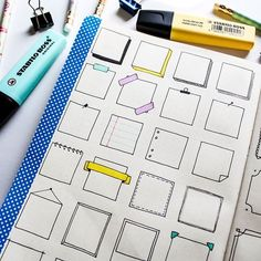 Pin by rhiannon williams on notes bullet journal, bullet jou Bullet Journal Simple, Minimalist Bullet Journal, Bullet Journal Headers, Bullet Journal 2019, Bullet Journal Notes, Bullet Journal Layout, Bullet Journal Inspiration, Doodle Inspiration, Journal Fonts