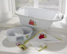 Lady Bug Bath Set