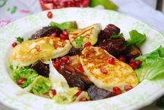 Pieczone buraki z grillowanym serem Halloumi - Kuchnia Breni Halloumi, Tacos, Mexican, Meat, Chicken, Ethnic Recipes, Food, Essen, Meals